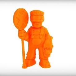 Download free 3D printer model Jude the Signaler, CoryDelgado