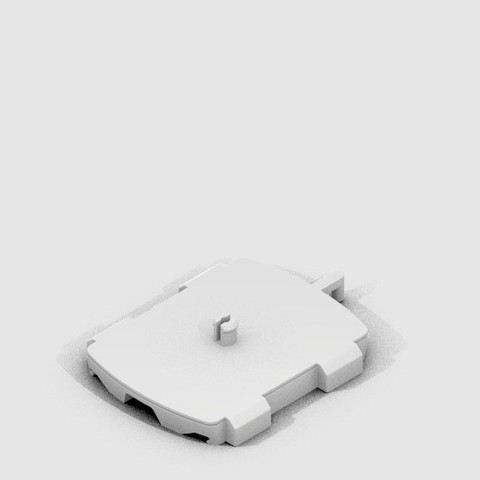 CT_CraftyCrane_Base_display_large.jpg Download free STL file Crafty Crane • 3D printable object, CoryDelgado