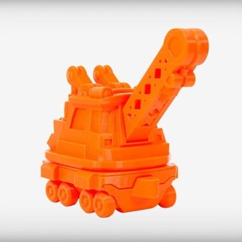 CRANE_display_large.jpg Download free STL file Crafty Crane • 3D printable object, CoryDelgado
