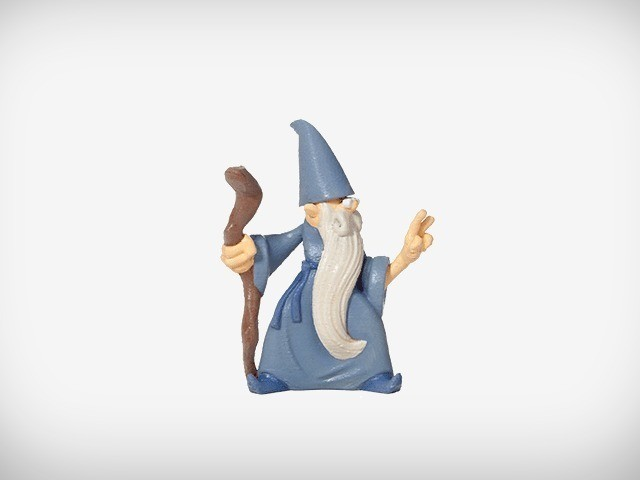 Rolf_05_display_large.jpg Download free OBJ file Rolf the Wizard • 3D printable template, MagicEddy