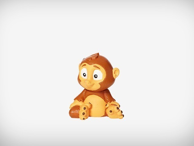 Sims_07_display_large.jpg Download free STL file Sims the Monkey • Model to 3D print, MagicEddy