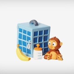 Free 3D model Sims the Monkey, MagicEddy