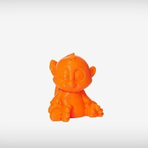Sims_03_display_large.jpg Download free STL file Sims the Monkey • Model to 3D print, MagicEddy