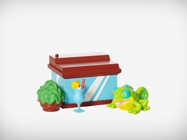 Klint_02_display_large.jpg Download free STL file Klint the Chameleon • 3D printing design, MagicEddy