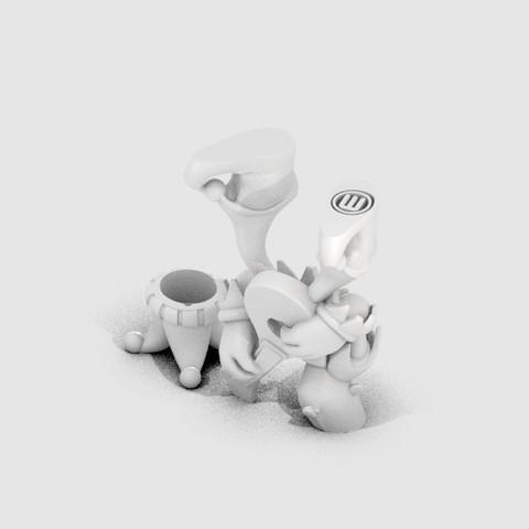 DG_BardaJester_display_large.jpg Download free STL file Barda The Jester • 3D printable design, MagicEddy