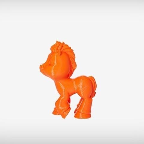 Tessa_06_display_large.jpg Download free STL file Tessa the Pony • Object to 3D print, MagicEddy