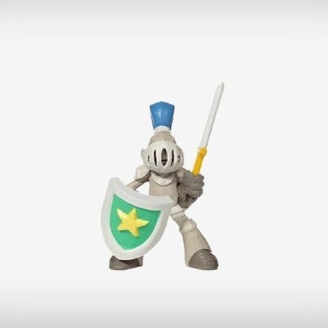 Diseños 3D gratis Sir Asher, MagicEddy