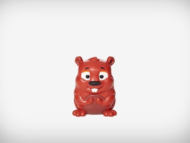 Ace_07_display_large.jpg Download free STL file Ace the Beaver • 3D printing design, MagicEddy