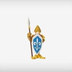 Free 3d printer model Cedric the Castle Guard, MagicEddy