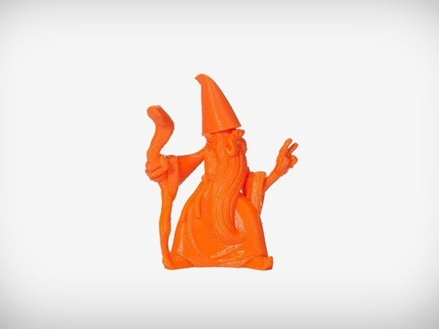 Rolf_01_display_large.jpg Download free OBJ file Rolf the Wizard • 3D printable template, MagicEddy