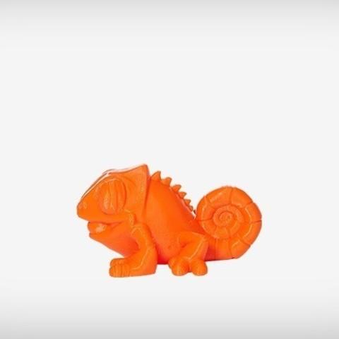 Klint_06_display_large.jpg Download free STL file Klint the Chameleon • 3D printing design, MagicEddy