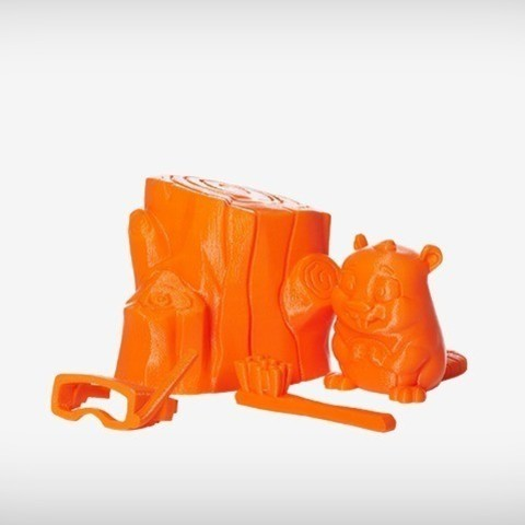 Ace_01_display_large.jpg Download free STL file Ace the Beaver • 3D printing design, MagicEddy