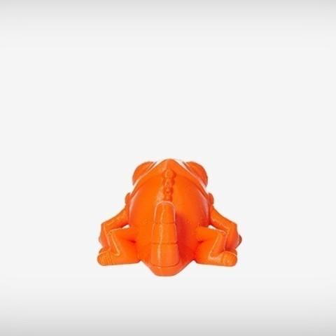 Klint_05_display_large.jpg Download free STL file Klint the Chameleon • 3D printing design, MagicEddy