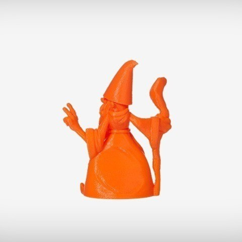 Rolf_03_display_large.jpg Download free OBJ file Rolf the Wizard • 3D printable template, MagicEddy