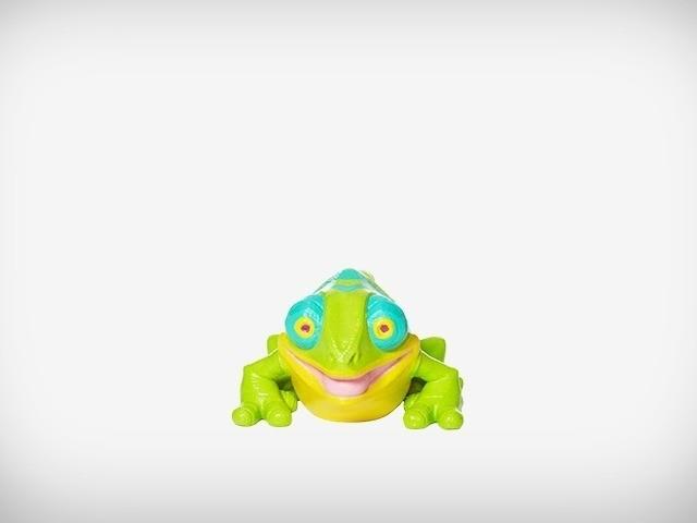 Klint_07_display_large.jpg Download free STL file Klint the Chameleon • 3D printing design, MagicEddy