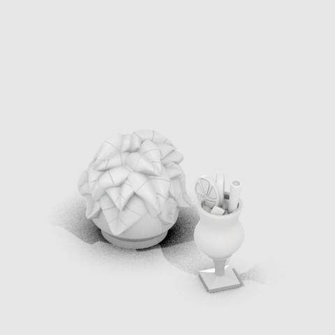 MP_Klint_Accessories__display_large.jpg Download free STL file Klint the Chameleon • 3D printing design, MagicEddy