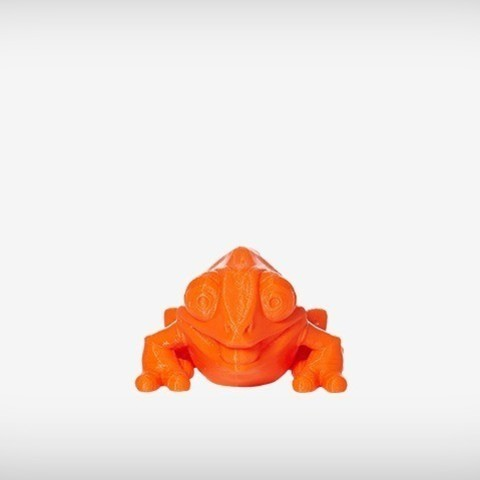 Klint_03_display_large.jpg Download free STL file Klint the Chameleon • 3D printing design, MagicEddy