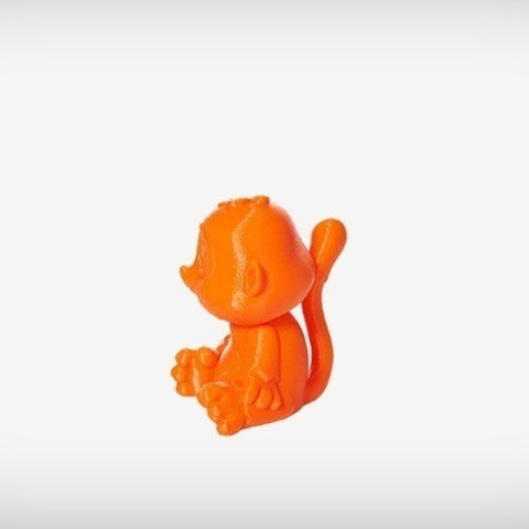 Sims_06_display_large.jpg Download free STL file Sims the Monkey • Model to 3D print, MagicEddy