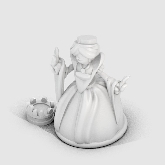 DG_QueenIsabella_display_large.jpg Download free STL file Queen Isabella • Object to 3D print, MagicEddy