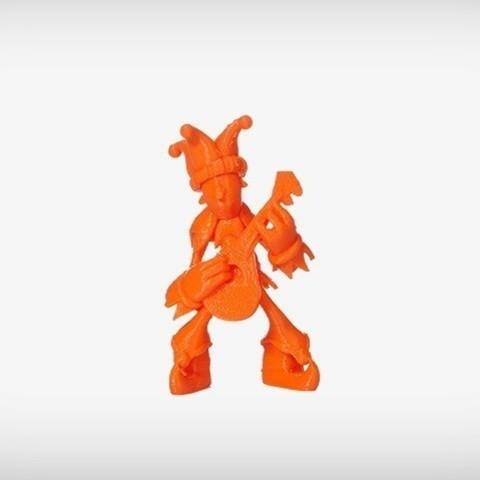 Barda_01_display_large.jpg Download free STL file Barda The Jester • 3D printable design, MagicEddy