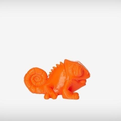 Klint_04_display_large.jpg Download free STL file Klint the Chameleon • 3D printing design, MagicEddy
