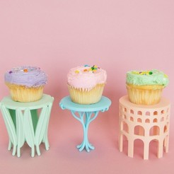 Free STL file Cupcake Holders, alterboy987