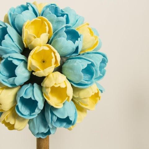 Download free STL files Floral Centerpiece, alterboy987