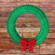 Free STL file Holiday Wreath, alterboy987