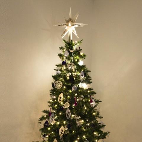Download free STL Confetti-Filled Tree Topper, alterboy987