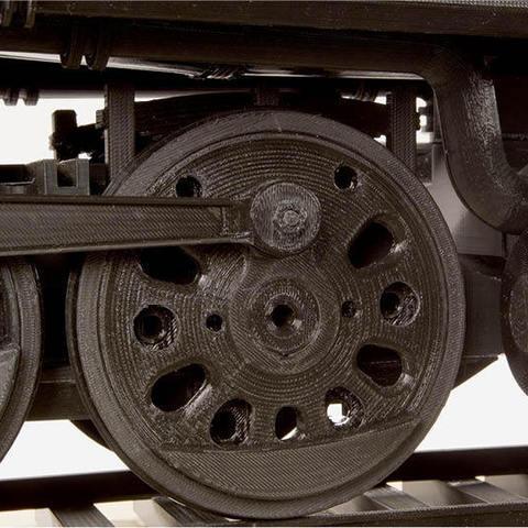 Télécharger fichier impression 3D gratuit Roue motrice 4-8-8-8-4 Locomotive Big Boy, RaymondDeLuca