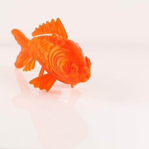 IMG_8467_display_large.jpg Download free STL file 'On Such a Full Sea' Koi Fish • 3D printable design, RaymondDeLuca