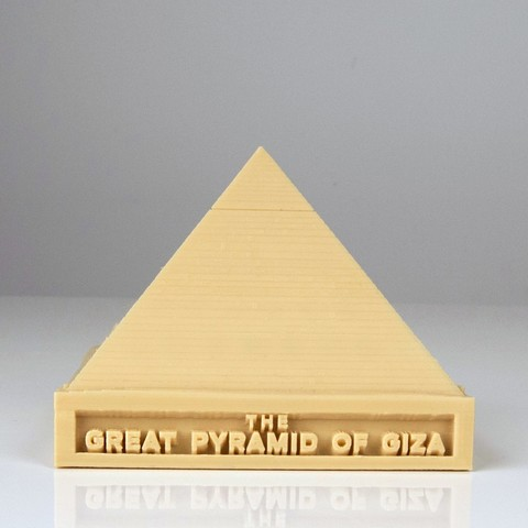 IMG_8774_copy_display_large.jpg Download free STL file The Great Pyramid of Giza • 3D print template, RaymondDeLuca