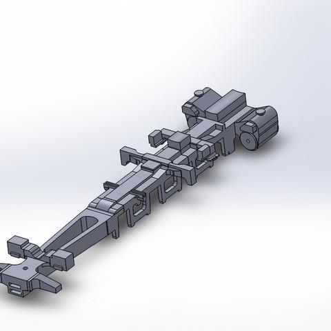 Rear_Engine_Frame_2_display_large.jpg Download free STL file 4-8-8-4 Big Boy Locomotive • 3D printer object, RaymondDeLuca