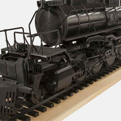 Free 3D printer files 4-8-8-4 Big Boy Locomotive, RaymondDeLuca