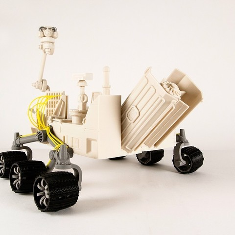 Download free 3D printer designs Mars Rover, RaymondDeLuca