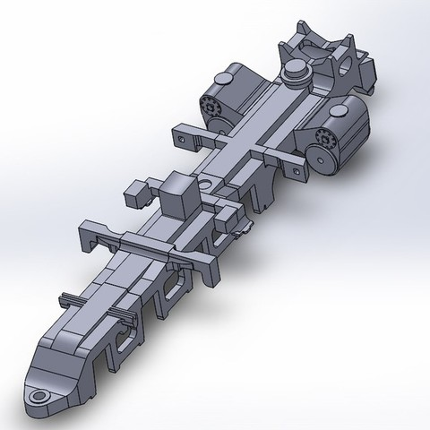 Front_Engine_Frame2_display_large.jpg Download free STL file 4-8-8-4 Big Boy Locomotive • 3D printer object, RaymondDeLuca