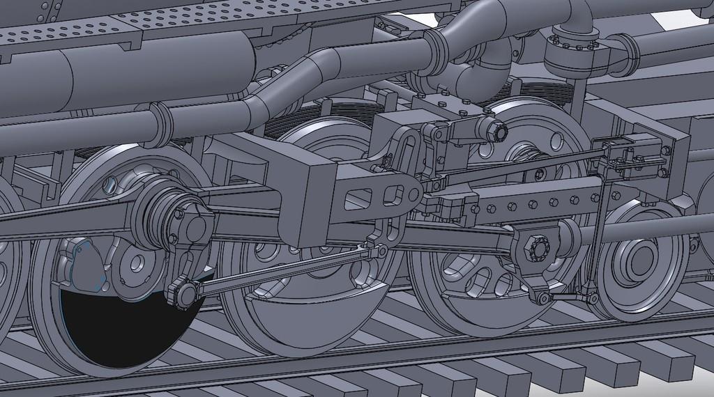 Linkage_Detail_display_large.jpg Download free STL file 4-8-8-4 Big Boy Locomotive • 3D printer object, RaymondDeLuca