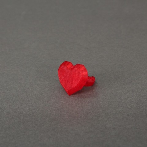 Free 3D printer files Heart Ring, Nairobiguy3D