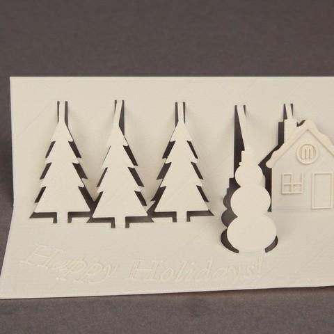 Download free 3D printing templates 3D Greeting Card, Nairobiguy3D