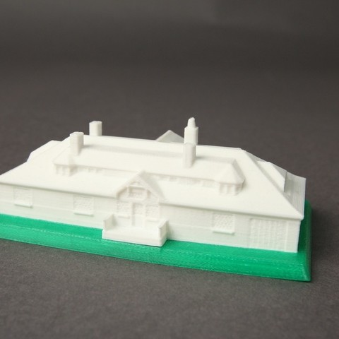 Greenwich_Mansion_2_display_large.jpg Download free OBJ file Innis Arden Cottage • 3D printable object, Nairobiguy3D