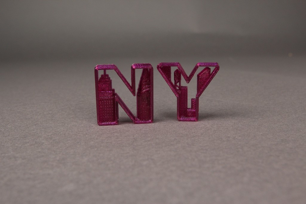 New_York_Letters_1_display_large.jpg Download free OBJ file NYC- New York Letters • 3D printable template, Nairobiguy3D