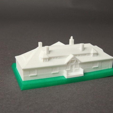 Greenwich_Mansion_3_display_large.jpg Download free OBJ file Innis Arden Cottage • 3D printable object, Nairobiguy3D