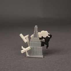 Download free 3D printer files New York - King Kong, Nairobiguy3D