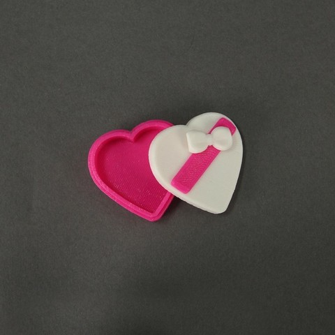 Download free 3D printing files Candy Heart Box, Nairobiguy3D