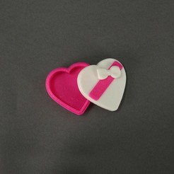 Candy_Heart_Box_display_large.jpg Download free STL file Candy Heart Box • 3D printer object, Nairobiguy3D