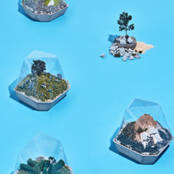 Free 3d printer files Terrarium project by Mayku, Mayku