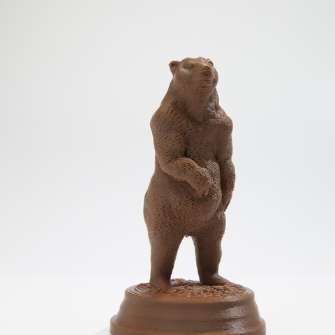 Download free STL file Brown Bear (Ursus arctos), wally3Dprinter