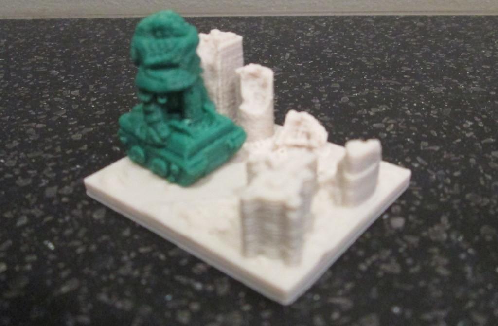 Alien_Tank_display_large.jpg Télécharger fichier STL gratuit Giant Alien Tank attaque la ville ! • Plan pour imprimante 3D, wally3Dprinter