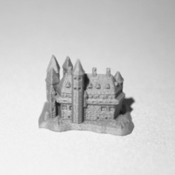 Free STL file Witch's Castle, wally3Dprinter