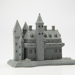 Free 3D printer files Castle of the Maker Empire, wally3Dprinter